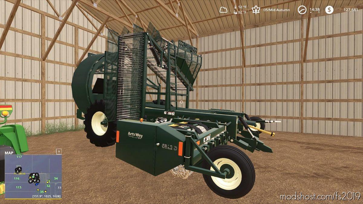 Artsway 6812D Sugar Beet Lifter for Farming Simulator 19