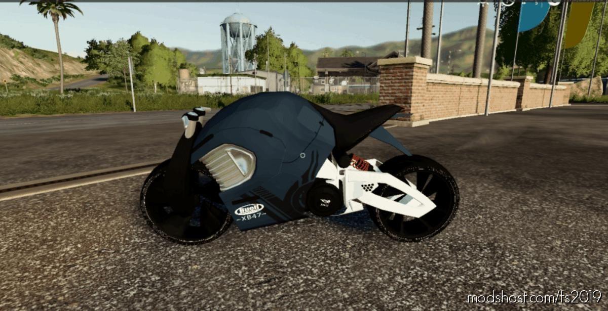 Buell Concept Bike for Farming Simulator 19