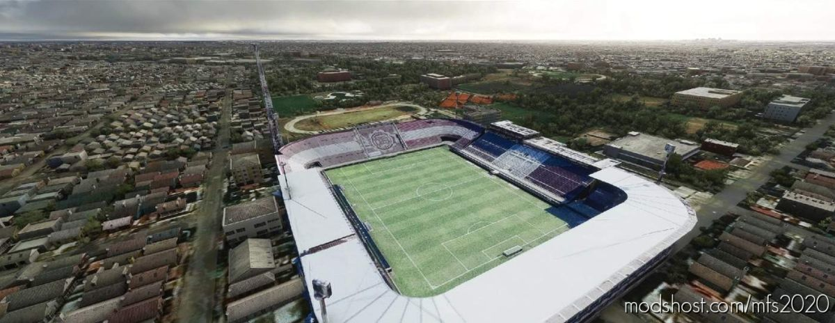 Estadio Ciudad DE Lanús Néstor DíAZ Pérez – Lanus – Argentina for Microsoft Flight Simulator 2020