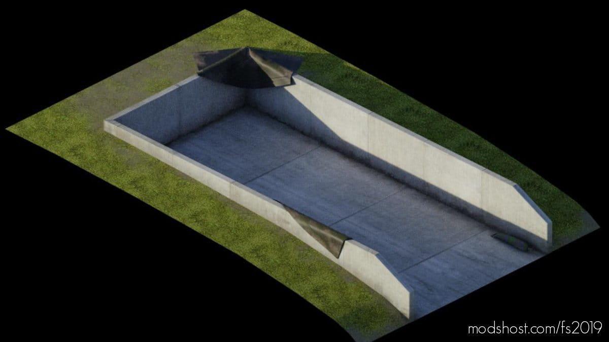Semi Underground Silos for Farming Simulator 19