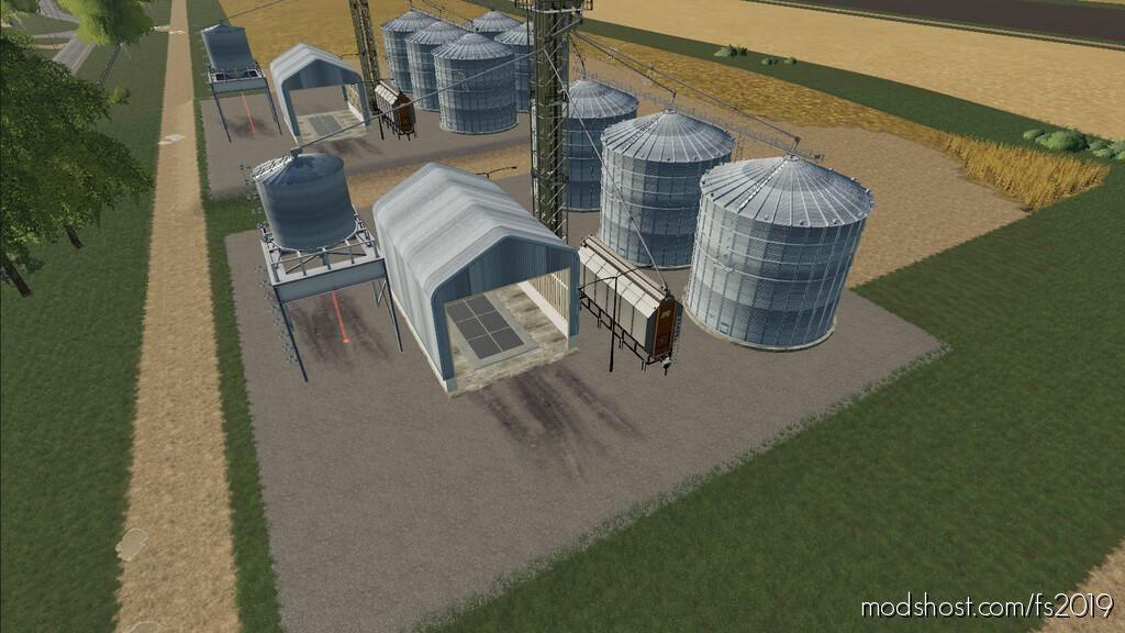 Mega Silo Complex for Farming Simulator 19