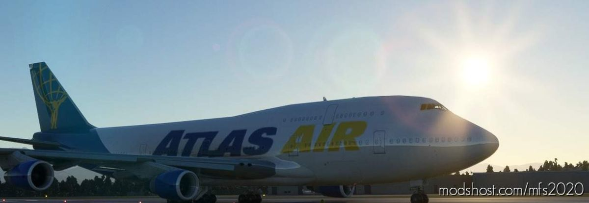 Atlas AIR 747-400 (Canadian Mods) for Microsoft Flight Simulator 2020