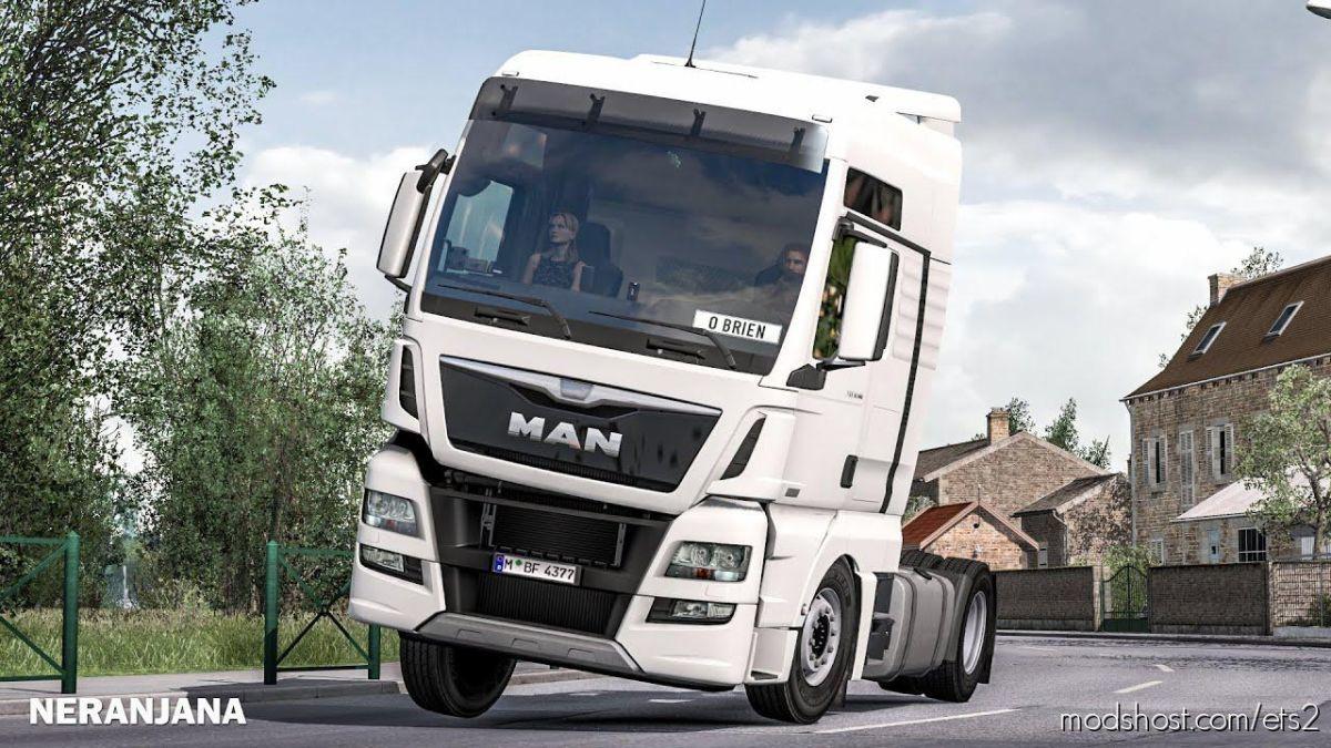 Physics Improved Reload V7.2 [1.39] for Euro Truck Simulator 2