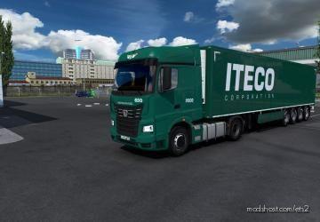 Combo Skin Iteco Corporation for Euro Truck Simulator 2