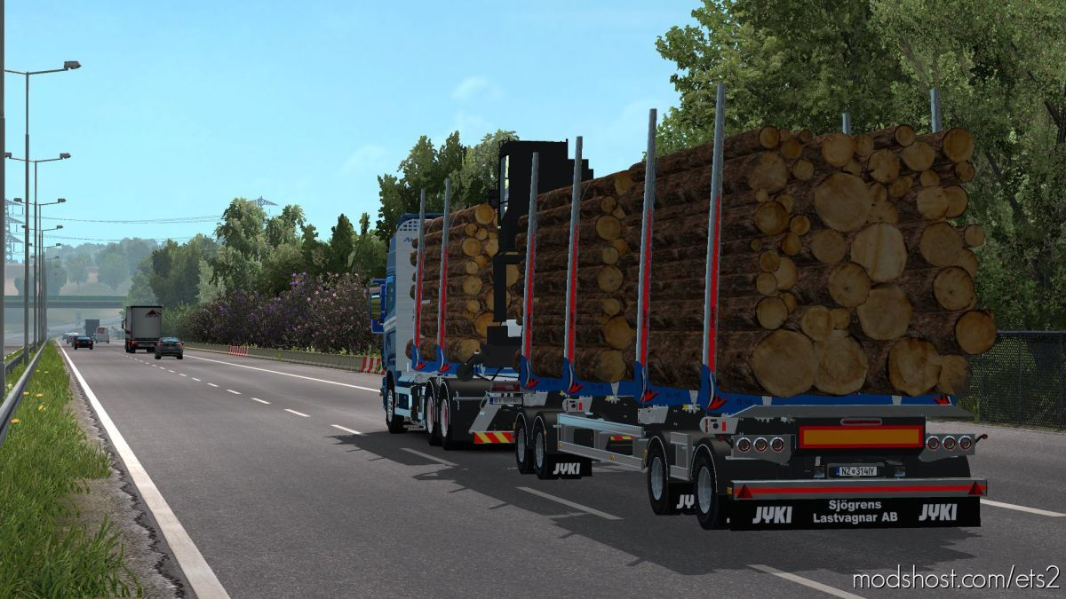 Timber Chassis Addon For RJL [1.38-1.39] for Euro Truck Simulator 2