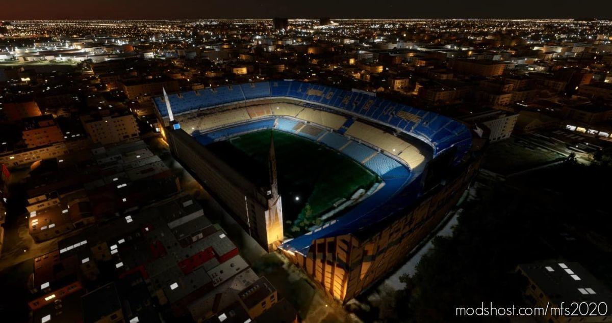 LA Bombonera Stadium for Microsoft Flight Simulator 2020