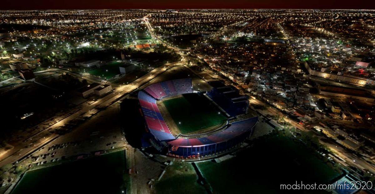Estadio Nuevo Gasómetro (Pedro Bidegain) for Microsoft Flight Simulator 2020