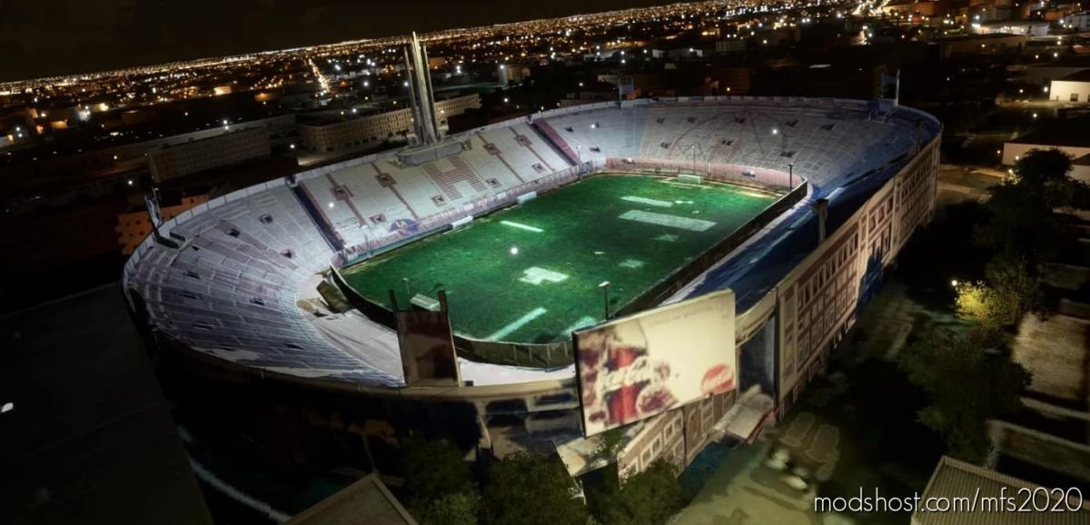 Estadio Tomás Adolfo DUCó – Huracan – Argentina for Microsoft Flight Simulator 2020