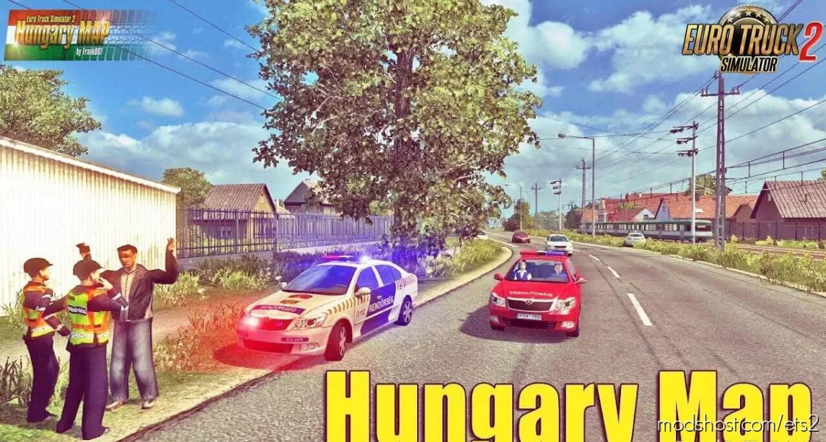 Hungary Map [1.39.X] V0.9.28B for Euro Truck Simulator 2