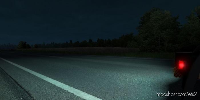 Alexd 5500K Reverse Light V1.7 for Euro Truck Simulator 2
