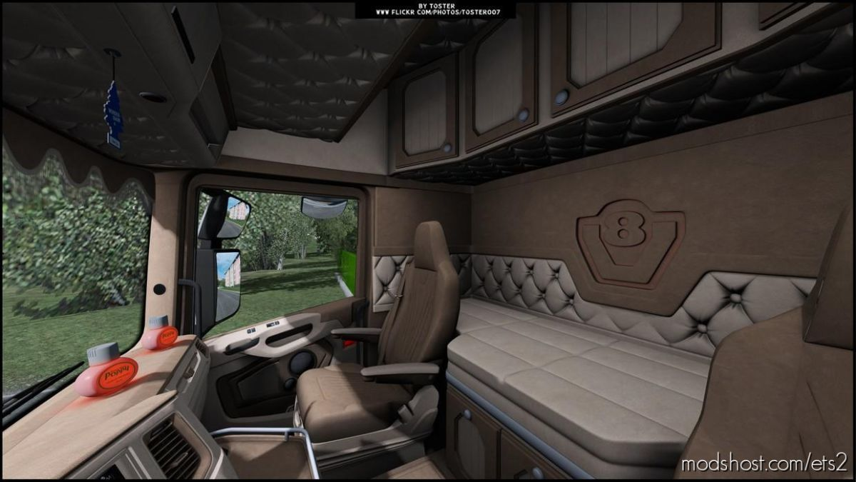 Interior For Scania NG S S.verbeek (OP Windows) [1.39] for Euro Truck Simulator 2