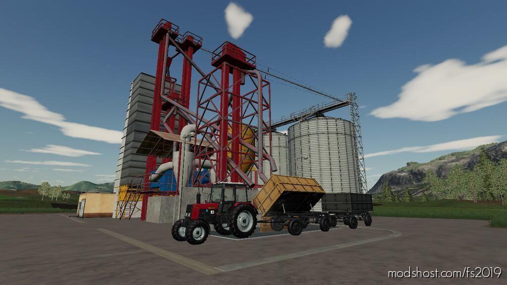 Babolna B-1-15 Grain Silo for Farming Simulator 19