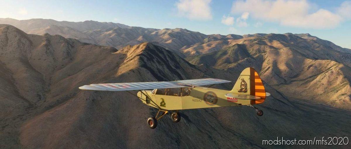 Savage CUB Keetoowah N221AZ for Microsoft Flight Simulator 2020