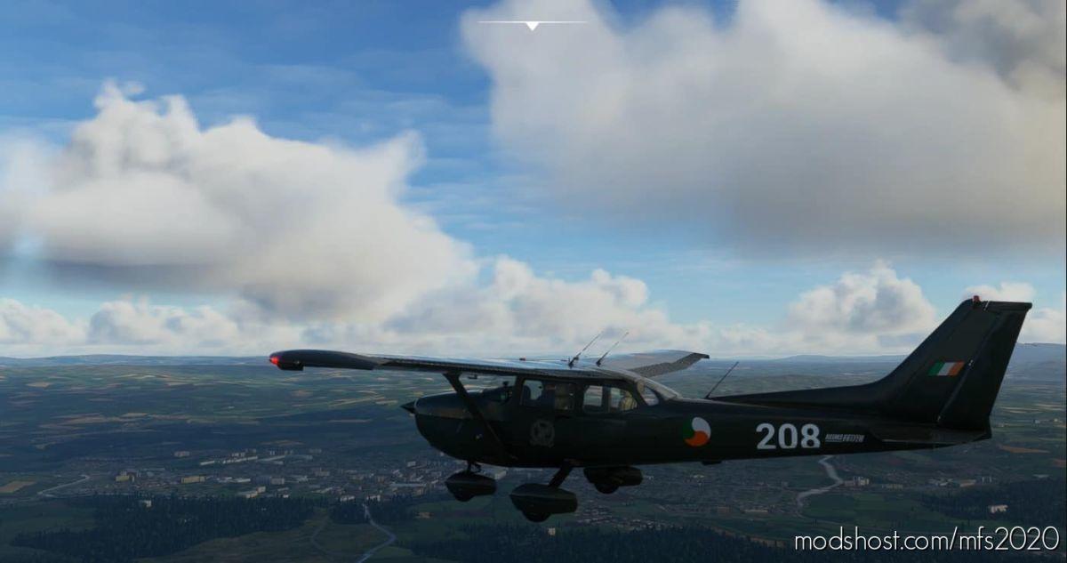 Irish AIR Corps Cessna 172 Skyhawk (G1000) for Microsoft Flight Simulator 2020