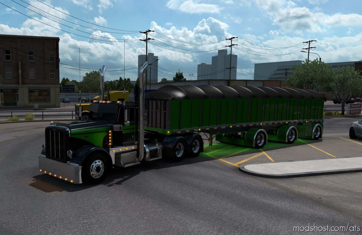 MAC Flatbed Custom Trailer [1.39] for American Truck Simulator