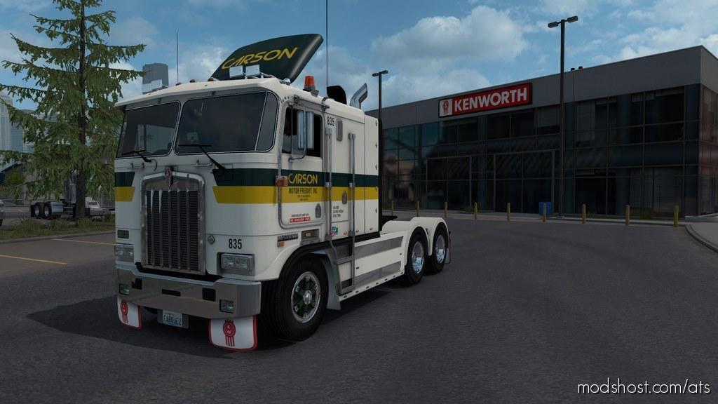 Kenworth K100E Truck V1.2.1 [1.39] for American Truck Simulator