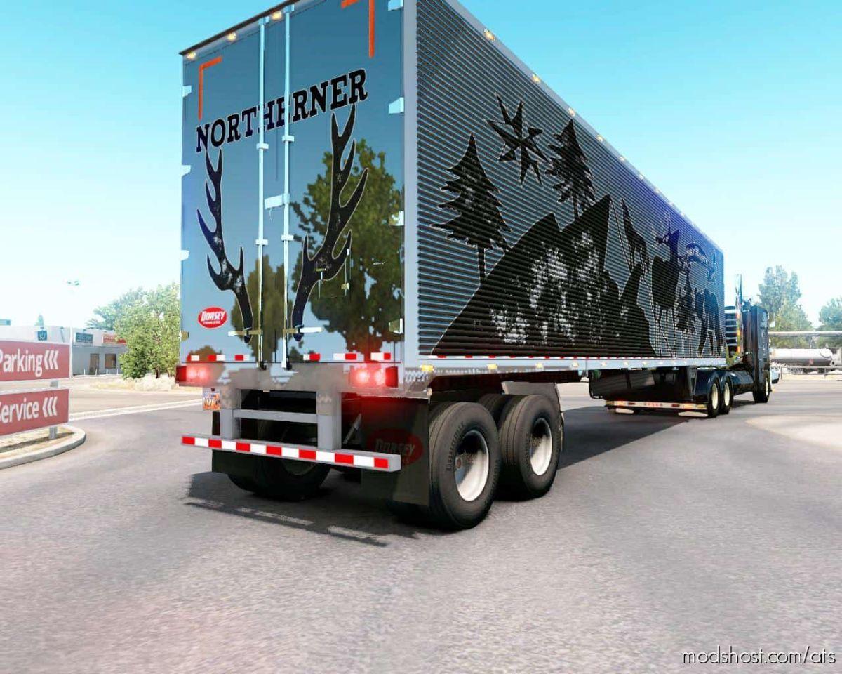 Dorsey 48FT Refrigerator Trailer V2.0 [1.39] for American Truck Simulator