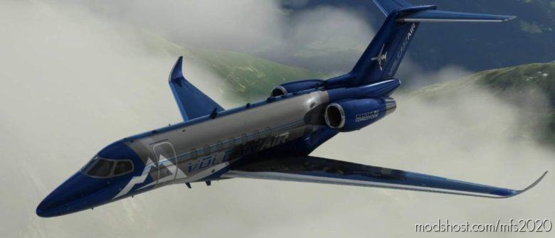 Volcan AIR Citation Longitude V3.0 for Microsoft Flight Simulator 2020