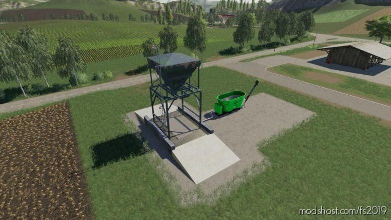 Placeable TMR Silo V2.0 for Farming Simulator 19