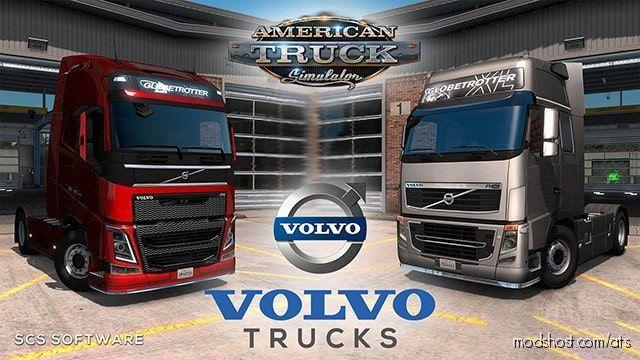 Volvo FH16 Trucks Mod V6.1 [1.39] for American Truck Simulator