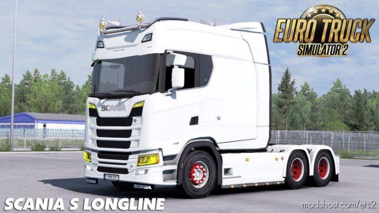 Scania S Long Line [1.39] for Euro Truck Simulator 2