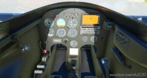 Long-Ez Carbon Interior Mod (Livery Included) for Microsoft Flight Simulator 2020