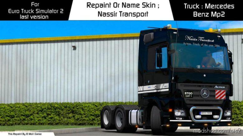 EL MOH Gamer – Nassir Transport – [1.39] for Euro Truck Simulator 2