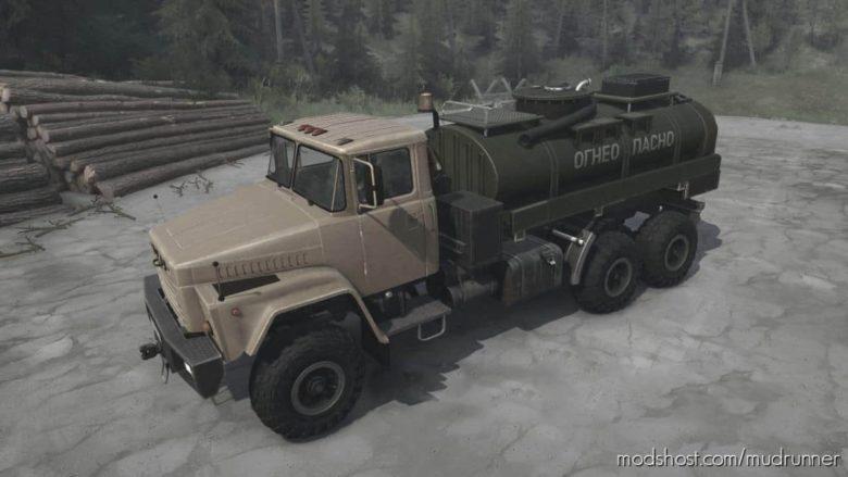 Kraz RSK Truck V11.11.20 for MudRunner
