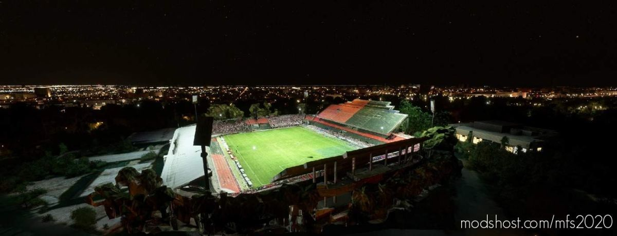 EL Coloso DEL Parque – Newell'S OLD Boys – Rosario – Argentina for Microsoft Flight Simulator 2020