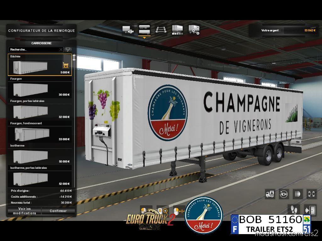 Skin France Champagne By BOB51160 for Euro Truck Simulator 2