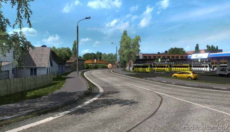 Lviv Oblast Expansion V0.1 For Promods 2.51 for Euro Truck Simulator 2