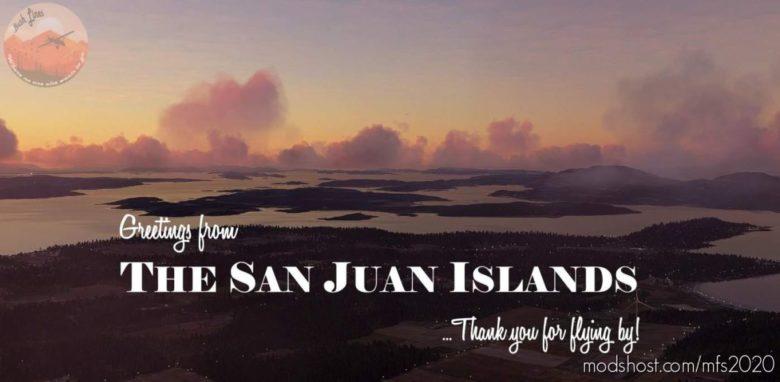 SAN Juan Islands, Washington for Microsoft Flight Simulator 2020