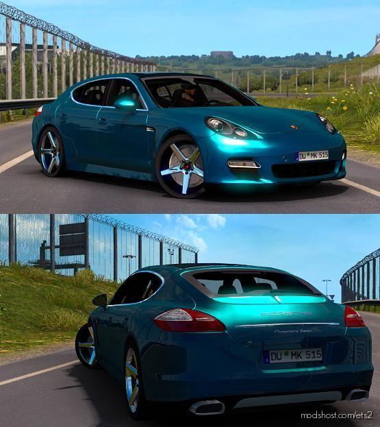 Porsche Panamera V5.0 [1.39] for Euro Truck Simulator 2