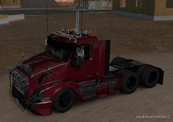 Volvo VNL Custom [1.39] for Euro Truck Simulator 2