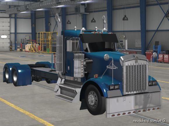 Kenworth W900 Long [1.39] for Euro Truck Simulator 2