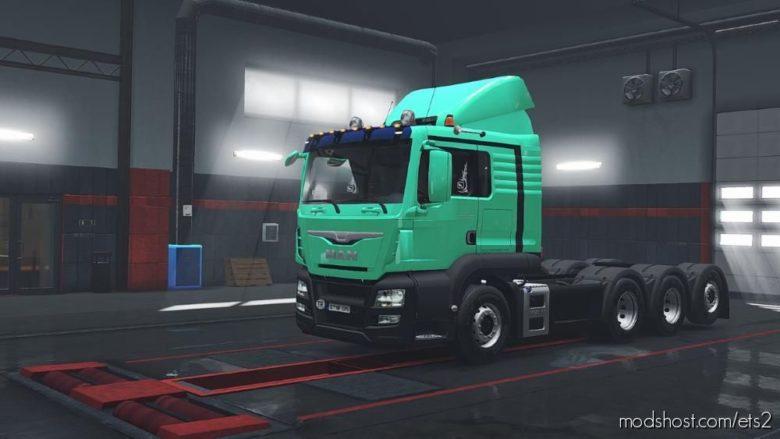 FIX For MAN TGS Euro 6 [1.39] for Euro Truck Simulator 2