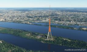 Riga Scenery for Microsoft Flight Simulator 2020