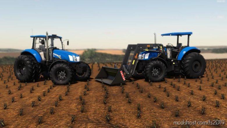 NEW Holland T6110 / 130 for Farming Simulator 19