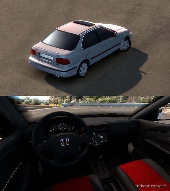 Honda Civic IES V7.0 [1.39] for Euro Truck Simulator 2