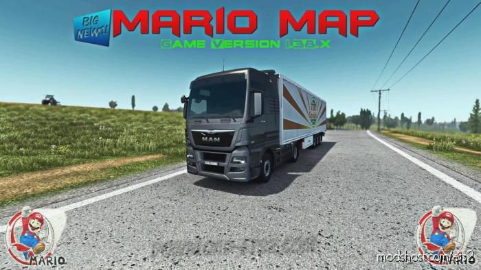 Mario Map V13.0 [1.39.X] for Euro Truck Simulator 2