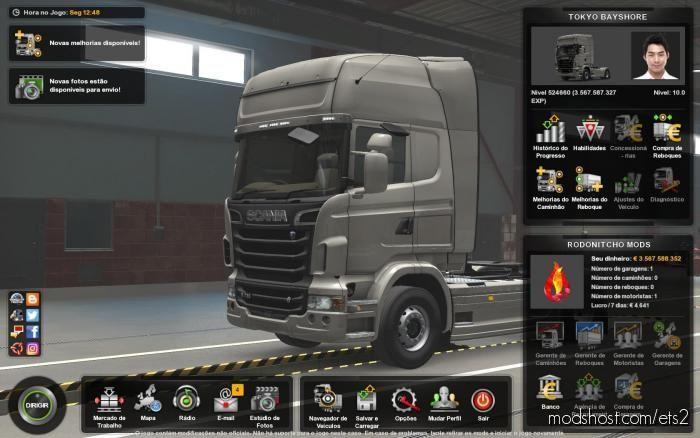 Profile Tokyobayshore By Koutsu, Seibishi [1.39] for Euro Truck Simulator 2