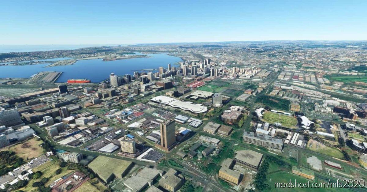 Durban Buildings 9&10 for Microsoft Flight Simulator 2020