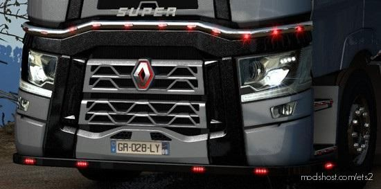 T Blinds Black Paint [1.38 – 1.39] for Euro Truck Simulator 2