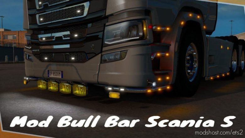 NEW Slot Scania S/R [1.39] for Euro Truck Simulator 2