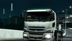 Mitsubishi Fuso Supergreat V [1.39] for Euro Truck Simulator 2