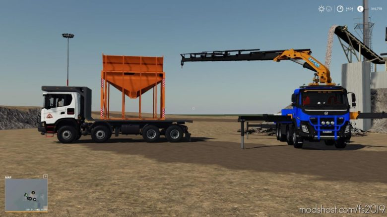 Loading Silo For Conveyor for Farming Simulator 19