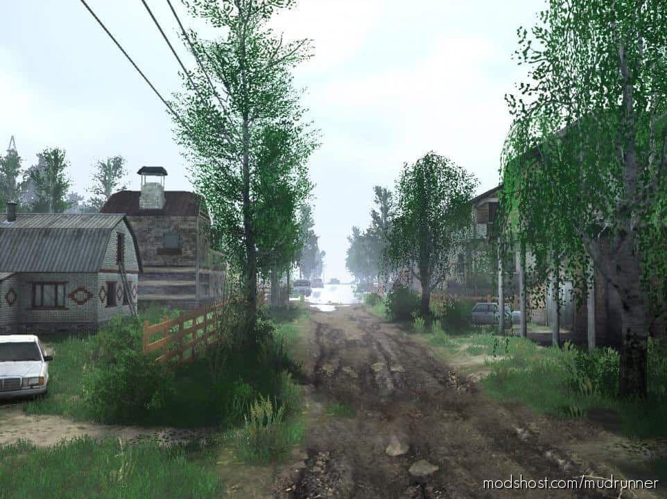 Beyond The Villages Map V15.11.20 for MudRunner