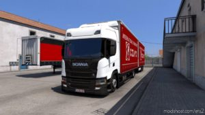Tandem Krone For Scania NG P/G/R/S By Eugene for Euro Truck Simulator 2