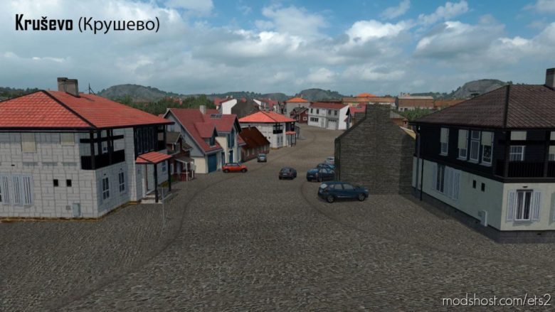 North Macedonia Rework V1.4 [1.39] for Euro Truck Simulator 2