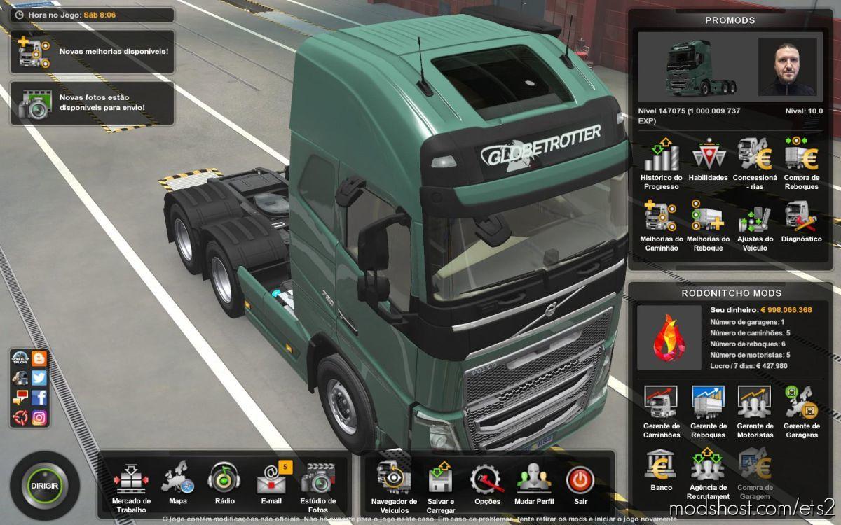 Profile Promods 2.51 [1.39] for Euro Truck Simulator 2